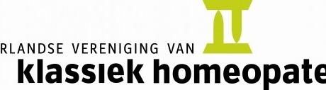 Nederlandse Vereniging van Klassiek Homeopaten